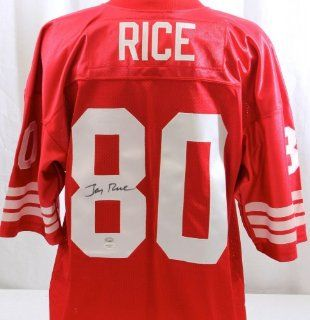 Autographed Jerry Rice Jersey   JSA Certified   Autographed NFL Jerseys Sports Collectibles