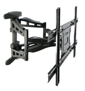 "Ultra slim Full Motion Articulating LED, LCD, or Plasma TV Wall Mount for Displays up to 60"" and 100lbs (NB787 L400) Electronics"