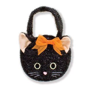 North American Bear Company Goody Bag Black Cat Plush Purse Toys & Games