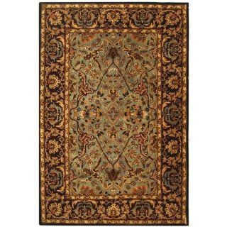 Safavieh Hg794a 214 Heritage Area Rug In Light Blue / Red