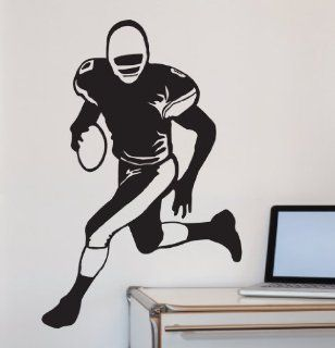 Large  easy Instant Decoration Wall Sticker Mural Sport American Football Rugby band of Brothers   Large Easy Instant Wall Decals