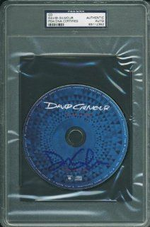 DAVID GILMOUR AUTHENTIC SIGNED ON AN ISLAND CD AUTOGRAPHED PSA/DNA SLABBED Entertainment Collectibles