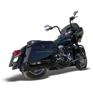 Bassani Road Rage II FLH 777B B1 Power Exhaust System for Harley Davidson Touring Automotive