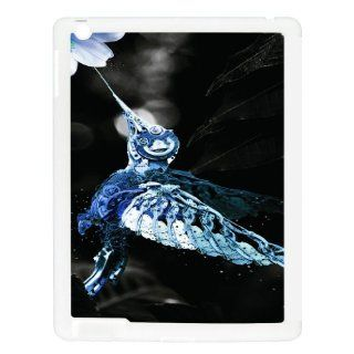 Steampunk Humming Bird  iPad White Case Computers & Accessories