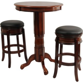 Boraam Magellan 3 Piece Pub Table Set   Pub Tables