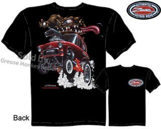SIZE Large 1955 Chevrolet Gasser T Shirts Monster Hot Rod 55 Chevy Racing Tee