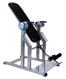 Teeter Hang Ups Power VI Inversion Table   Silver   Inversion Tables
