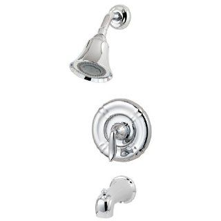 Pfister Santiago 1 Handle Tub & Shower Faucet in Polished Chrome