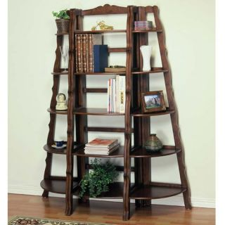 Powell Bradford 3 Piece Tall Wood Bookcase   Bookcases