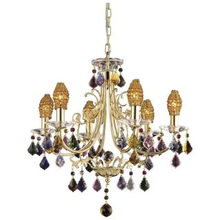 Dale Tiffany Yorkshire Chandelier   Tiffany Ceiling Lighting