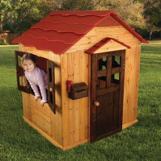 KidKraft Red Roof Outdoor Playhouse   Outdoor Playhouses