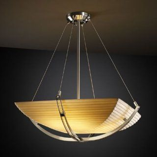 Justice Design Group Porcelina Collection Pendant Light   Ceiling Pendant Fixtures