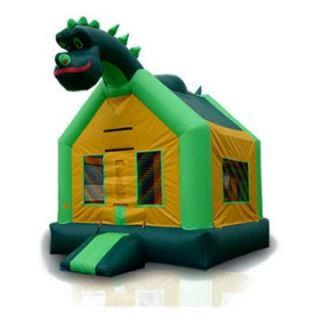 EZ Inflatables Dinosaur Jumper Bounce House   Commercial Inflatables