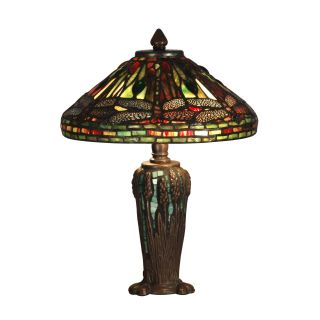 Dale Tiffany Dragonfly Jewel Tiffany Table Lamp   Table Lamps