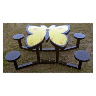 OFab Kid's Butterfly Picnic Table   Picnic Tables