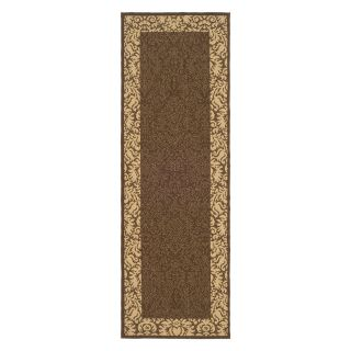 Safavieh Courtyard CY2727 Area Rug Chocolate/Natural   Area Rugs