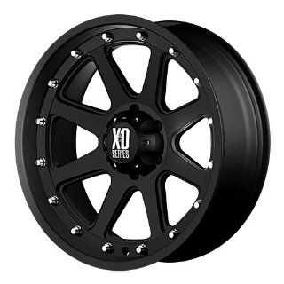 XD XD798 16 Black Wheel / Rim 8x170 with a  12mm Offset and a 125.5 Hub Bore. Partnumber XD79869087712N Automotive