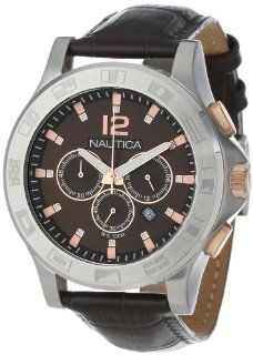 Nautica Unisex N22620G NCS 801 Classic Analog with Enamel Bezel Watch Watches