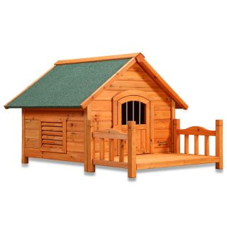 Pet Squeak Porch Pups Dog House   Dog Houses