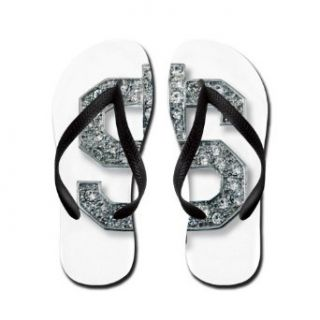 Artsmith, Inc. Women's Flip Flops (Sandals) Bling Dollar Sign Clothing