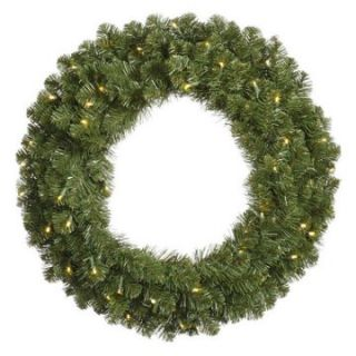 Vickerman 60 in. Pre Lit Grand Teton Wreath   Christmas Wreaths