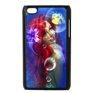 Cartoon The Little Mermaid Personalized Music Case Ipod Touch 4th Case Cover for Ipod Touch 4th Generation IT4TLM37   Players & Accessories
