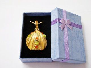 Pretty Coulorful SEA SHELL NECKLACE 4GB USB Flash Drive   in Gift box   with GadgetMe Brands TM Stylus Pen Computers & Accessories