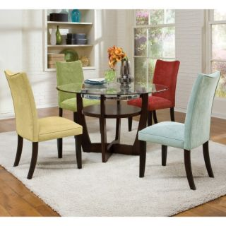 Standard Furniture La Jolla 5 Piece Dining Table Set   Red   Dining Table Sets