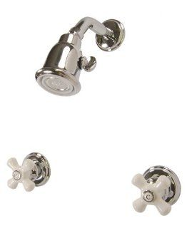 Price Pfister Savannah 2 Handle Chrome Shower Only Faucet 807 8CPC   Two Handle Tub And Shower Faucets