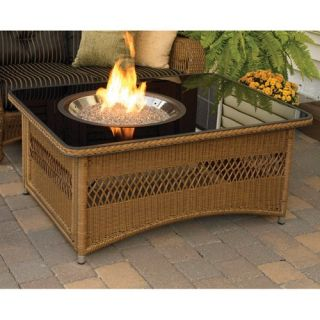 Outdoor GreatRoom Naples Gas Fire Pit Table   Fire Pits