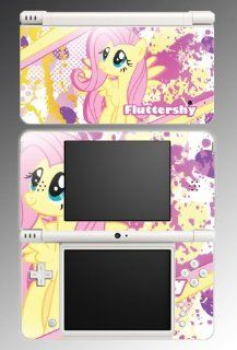Fluttershy My Little Pony Friendship is Magic Video Game Vinyl Decal Cover Skin Protector for Nintendo DSi XL Video Games
