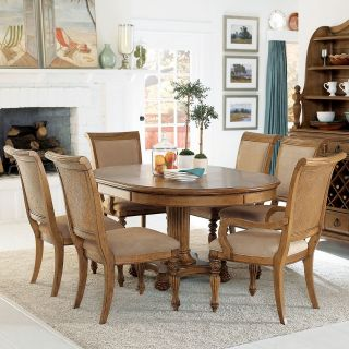 American Drew Grand Isle 7 pc. Round Dining Table Set   Dining Table Sets