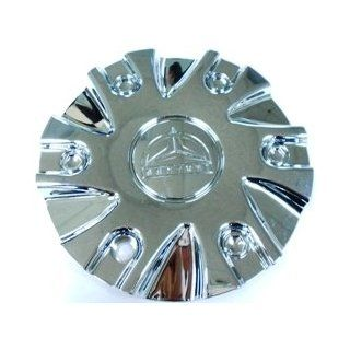 BENTCHI B13 CHROME WHEEL CAP PLASTIC [CS418 2P] [SJ812 01] SMALL CAP Automotive