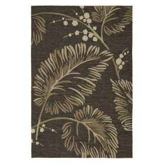 Kaleen Home and Porch Palymra 2025 40 Indoor/Outdoor Area Rug   Chocolate   Area Rugs