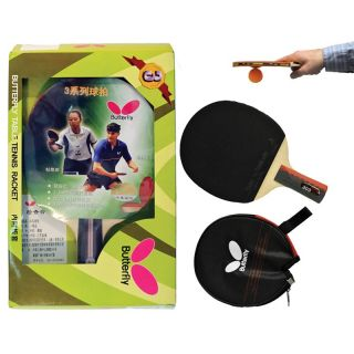 Butterfly 303 Penhold Table Tennis Racket   Table Tennis Paddles