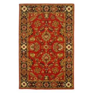 Lifestyles Rugs Kavera LS RM6 Area Rug   Red/Black   Area Rugs