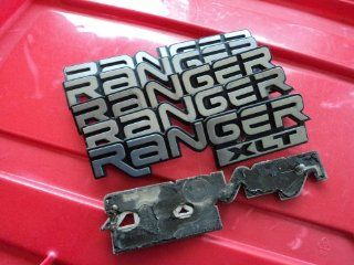 FORD RANGER XLT SIDE FENDER LOGO EMBLEM BADGE Automotive