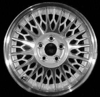 95 98 LINCOLN MARK VIII ALLOY WHEEL RIM 16 INCH, Diameter 16, Width 7 (LACY SPOKE), 39mm offset, MACHINED FACE. SILVER VENTS, 1 Piece Only, Remanufactured (1995 95 1996 96 1997 97 1998 98) ALY03232U10 Automotive