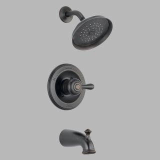 Delta Leland Monitor 14478 14 Wall Mount Series Tub and Shower Trim Set   Bathtub Faucets