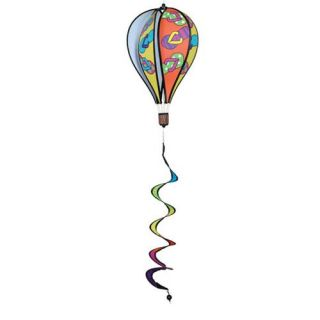 Premier Designs 16 in. Flip Flops Hot Air Balloon Wind Spinner   Wind Spinners