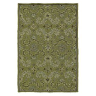 Kaleen Home and Porch Isle of Hope 2017 33 Indoor/Outdoor Area Rug   Celery   Area Rugs