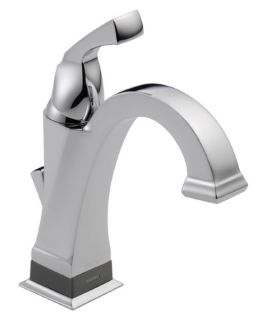 Delta Dryden 551T DST Single Hole Bathroom Faucet Touch2O Technology   Bathroom Sink Faucets