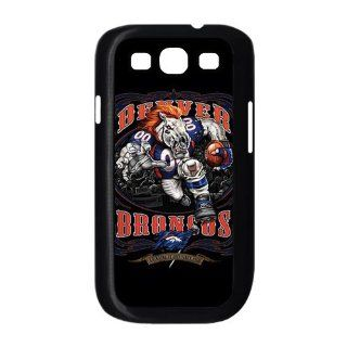 NFL Denver Broncos Team For Samsung Galaxy S3 I9300 Black or White Durable Plastic Case Creative New Life Cell Phones & Accessories