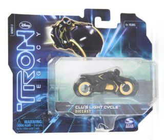 Tron Legacy Series 2 Clu's Light Cycle Diecast Vehicle Toys & Games