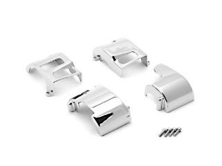 Yamaha Road Star V Star 650 / Kawasaki Vulcan 1500 1600 Custom Chrome Handlebar Switch Housing Cover Kit Automotive