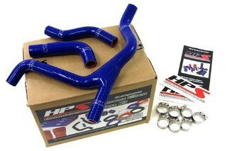 07 09 Suzuki RMZ250� HPS Blue Silicone Radiator Hose Kit Coolant RMZ 250� 08 Automotive