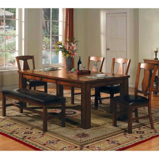 Steve Silver Lakewood 6 Piece Dining Table Set   Dining Table Sets