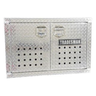 Tradesman Aluminum Flush Mount Dog Box   Truck Tool Boxes