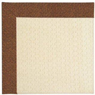 Tampico Samba Octagonal Indoor/Outdoor Solid rug by Capel Shoal Java Sisal in 8'x8'   Area Rugs