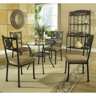 Steve Silver Carolyn 5 Piece Dining Table Set   Dining Table Sets at